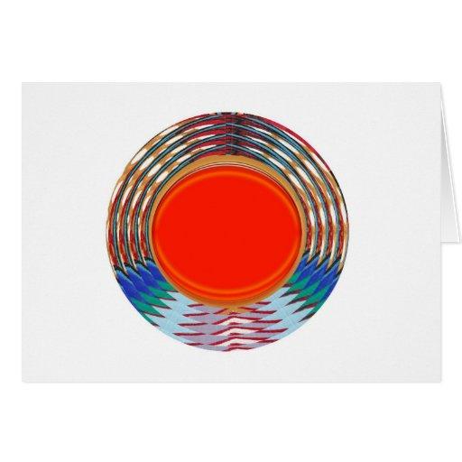 Sparkling RED Deco Emblem: GIFTS emit ENERGY Cards
