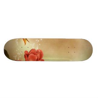 Sparkling Roses Custom Skate Board