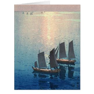 Sparkling Sea 1926 Big Greeting Card