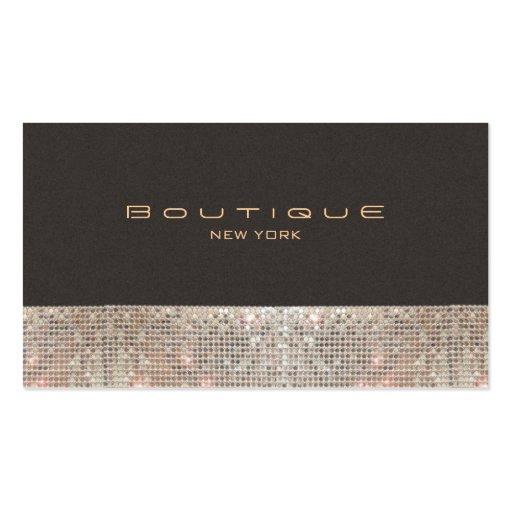 FAUX Sparkling Sequins and Suede Fashion Boutique