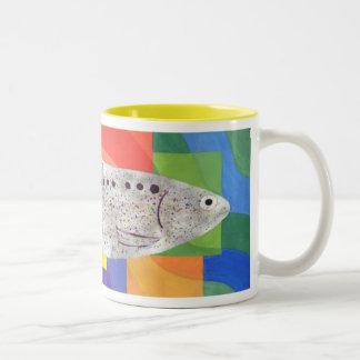 Sparkling Shad Two-Tone Coffee Mug