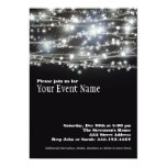"Sparkling Star Holiday Celebration Invitation Card 5"" X 7"" Invitation Card"