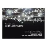 Sparkling Stars Invitation 13 Cm X 18 Cm Invitation Card