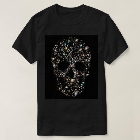 SPARKLING STARS SKULL T-SHIRT