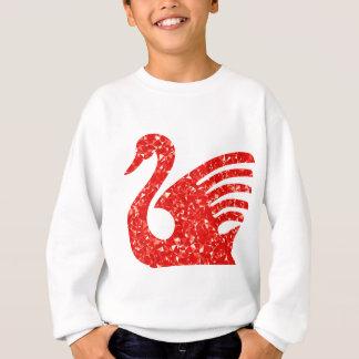 Sparkling swan sweatshirt