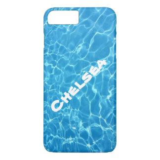 Sparkling Water Pool Ocean Beach Name iPhone Case