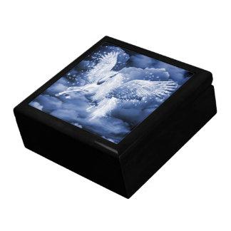Sparkling White Pegasus Trinket Box