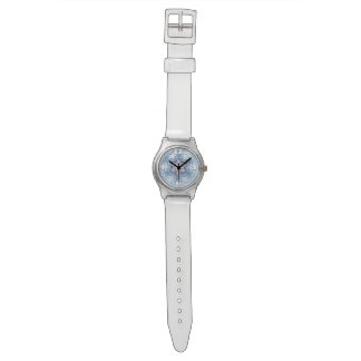Sparkly Blue Snowflakes Watch