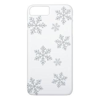 Sparkly Crystal Snowflakes iPhone 7 iPhone 8 Plus/7 Plus Case
