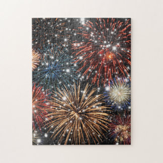 Sparkly Fireworks Puzzle