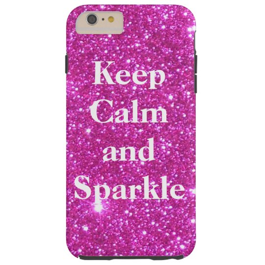 Sparkly Glittery Glitter Pink Glam CricketDiane Tough iPhone