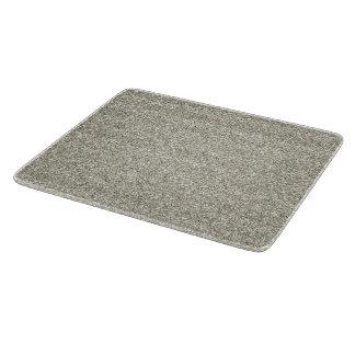 Sparkly Glitzy Silver Glitter Cutting Board