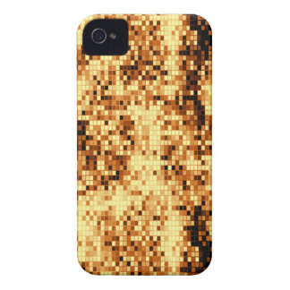 Sparkly gold tiled iPhone 4 cover