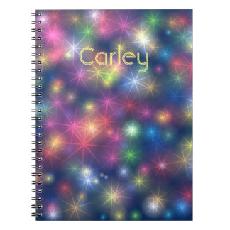 Sparkly Lights Notebooks
