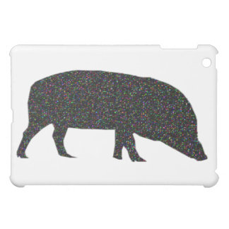 Sparkly Pig  Cover For The iPad Mini