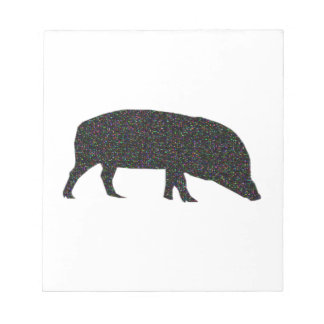 Sparkly Pig Notepad