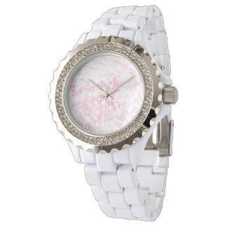 Sparkly Pink Glitter Watch