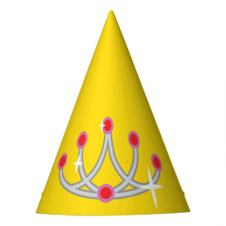 Sparkly Princess Crown Party Hat