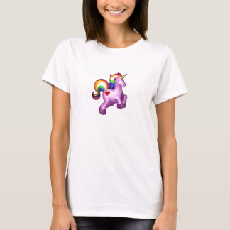 Sparkly rainbow unicorn of happiness T-Shirt