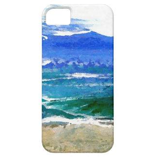 Sparkly Sea Ocean Beach Surf Sea Waves Cases