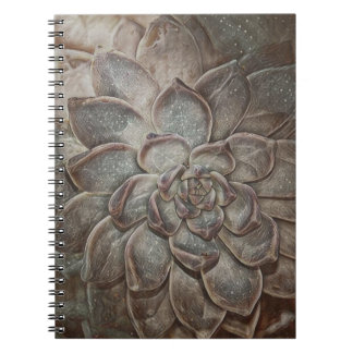 Sparkly Succulent Notebook