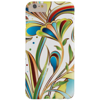 Sparkly Trendy Abstract Floral Barely There iPhone 6 Plus Case
