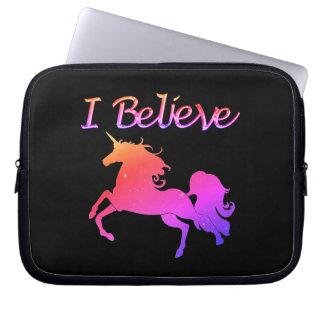 Sparkly Unicorn Laptop Sleeve