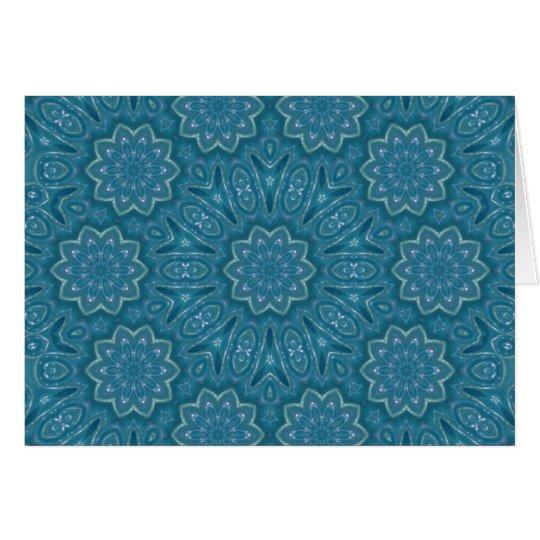 SparklyTurquoise, note card