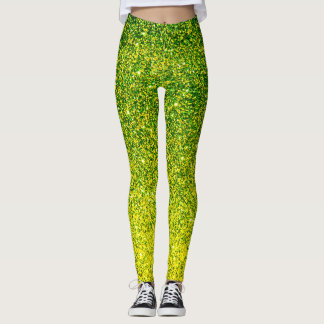 Sparks Of Green Leggings