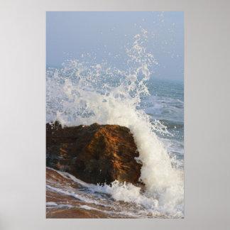 Sparks of Wave Poster