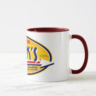 'Spark's' Petrol Mug Logo