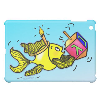 Sparky Hanuka Fish - Funny Cute Cartoon iPad Case
