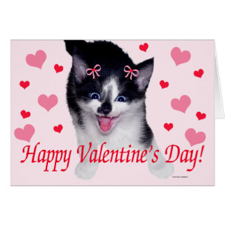 """Sparky"" Valentine Greeting Card"