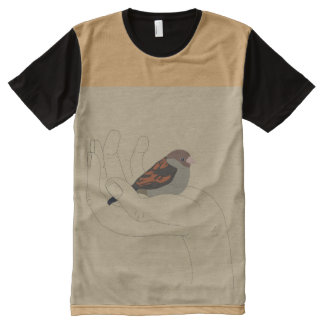 sparrow All-Over print T-Shirt