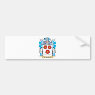 Sparrow Coat of Arms - Family Crest Bumper Sticker