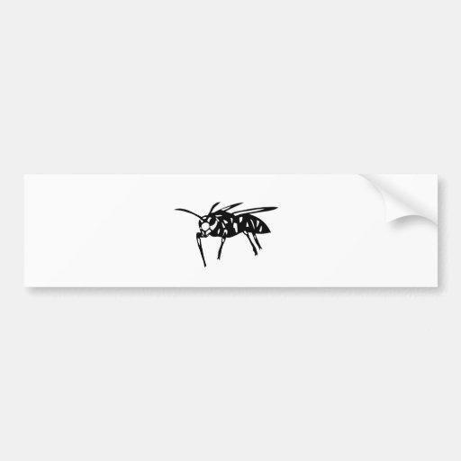 Sparrow drumstick goods bee hornet; yellow jacket; bumper stickers