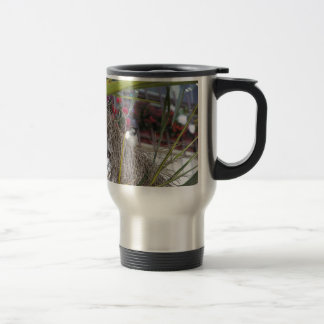 Sparrow in southern Spain Travel Mug
