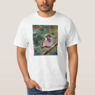 """Sparrow in Trees"" - T-shirt"