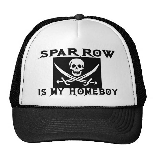 SPARROW IS MY HOMEBOY TRUCKER HAT