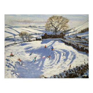 Sparrowpit Derbyshire Postcard