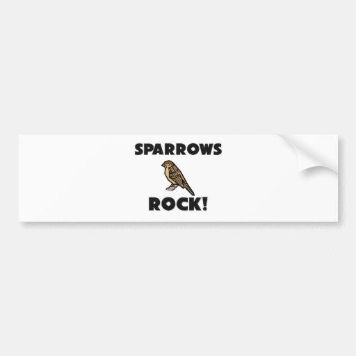 Sparrows Rock Bumper Stickers