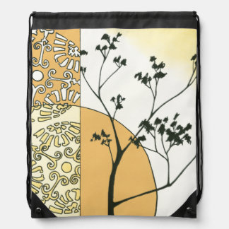 Sparse Tree Silhouette by Megan Meagher Backpacks
