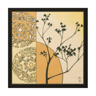 Sparse Tree Silhouette by Megan Meagher Wood Wall Decor