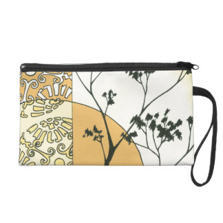 Sparse Tree Silhouette by Megan Meagher Wristlet