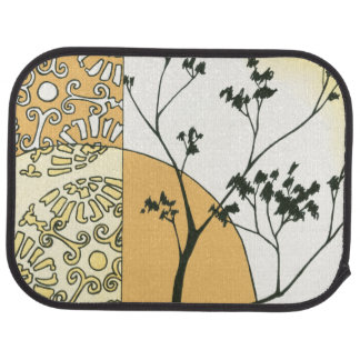 Sparse Tree Silhouette by Megan Meagher Floor Mat