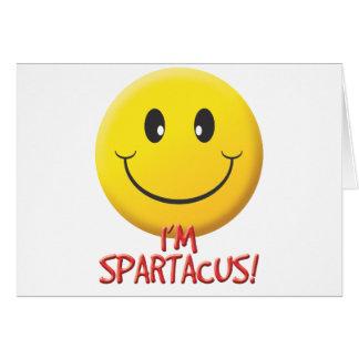 Spartacus Greeting Card