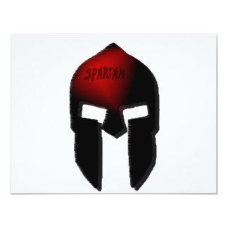 spartan 11 cm x 14 cm invitation card