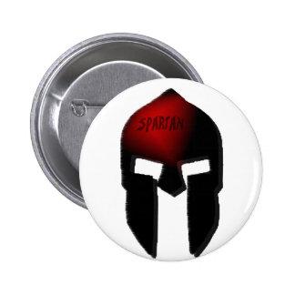 spartan 6 cm round badge