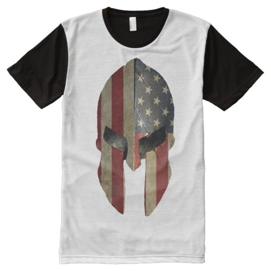 Spartan All-Over Print T-Shirt