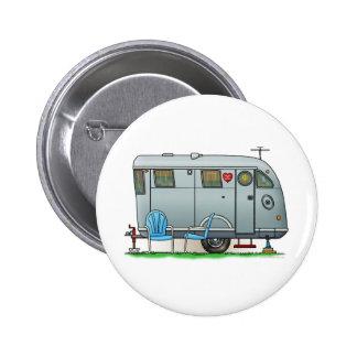 Spartan Camper Trailer RV 6 Cm Round Badge